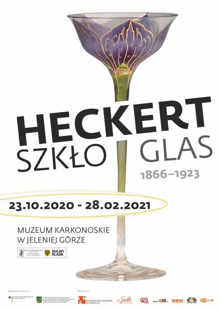 Na grafice plakat informujący o wystawie