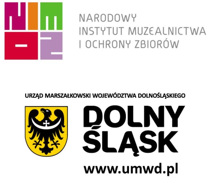 Na zdjęciu logotypy NIMOZu i UMWD