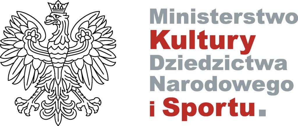 Na grafice logotyp Ministerstwa Kultury, Dziedzictwa Narodowego i Sportu.